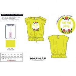 Camiseta mg corta naf naf - Naf Naf - NFV-NNSE1010YELLOW