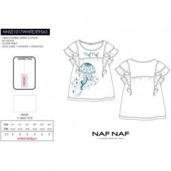 Camiseta mg corta naf naf - Naf Naf - NFV-NNSE1017WHITE