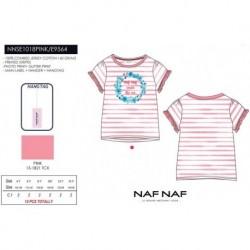 Camiseta mg corta naf naf - Naf Naf - NFV-NNSE1018PINK