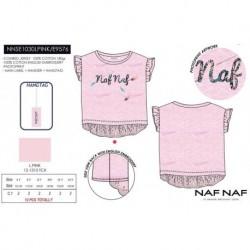 Camiseta mg corta naf naf - Naf Naf - NFV-NNSE1030LPINK