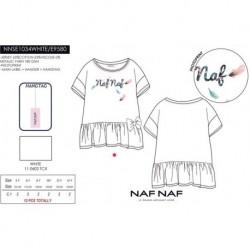 Camiseta mg corta naf naf - Naf Naf - NFV-NNSE1034WHITE