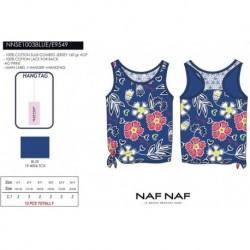 Camiseta tirantes naf naf - Naf Naf - NFV-NNSE1003BLUE