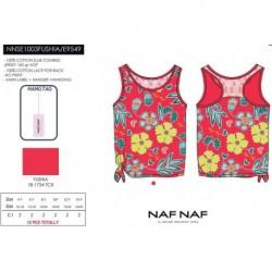 Camiseta tirantes naf naf - Naf Naf - NFV-NNSE1003FUSHIA