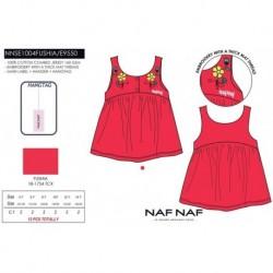 Camiseta tirantes naf naf - Naf Naf - NFV-NNSE1004FUSHIA