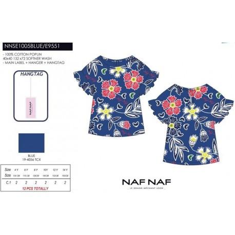 Camiseta tirantes naf naf - Naf Naf - NFV-NNSE1005BLUE