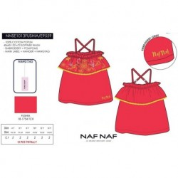 Camiseta tirantes naf naf - Naf Naf - NFV-NNSE1013FUSHIA
