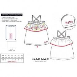 Camiseta tirantes naf naf - Naf Naf - NFV-NNSE1013WHITE