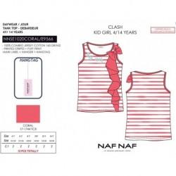 Camiseta tirantes naf naf - Naf Naf - NFV-NNSE1020CORAL