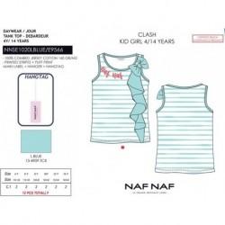 Camiseta tirantes naf naf - Naf Naf - NFV-NNSE1020LBLUE
