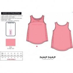 Camiseta tirantes naf naf - Naf Naf - NFV-NNSE1021PINK