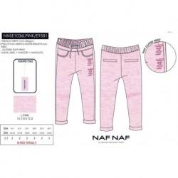 Pantalon chandal naf naf - Naf Naf - NFV-NNSE1036LPINK