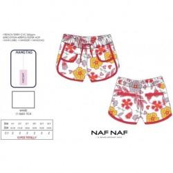 Pantalon corto naf naf - Naf Naf - NFV-NNSE1006WHITE