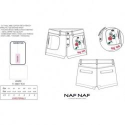 Pantalon corto naf naf - Naf Naf - NFV-NNSE1007WHITE