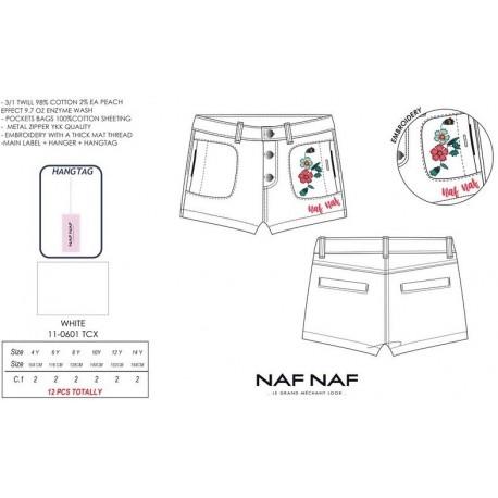 Pantalon corto naf naf - Naf Naf - NFV-NNSE1007WHITE almacen