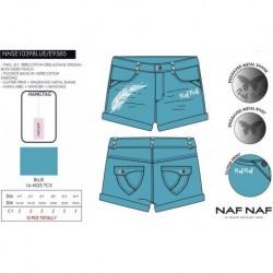 Pantalon corto naf naf - Naf Naf - NFV-NNSE1039BLUE