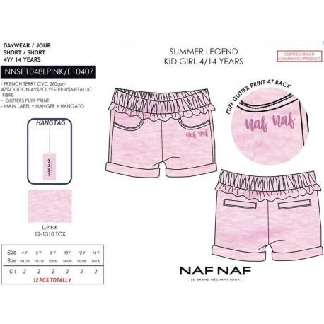 Pantalon corto naf naf - Naf Naf - NFV-NNSE1048LPINK