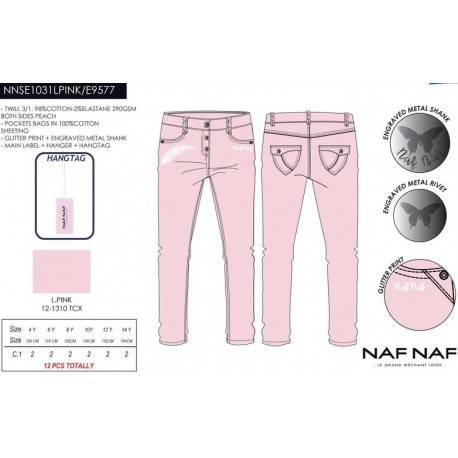 NFV-NNSE1031LPINK mayoristas ropa infantil en españa Pantalon