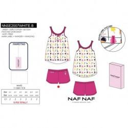 Pijama c/caja naf naf - Naf Naf - NFV-NNSE2007WHITE.B