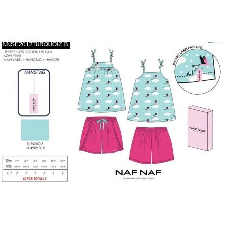 Pijama c/caja naf naf - Naf Naf - NFV-NNSE2012TURQUOIZ.B