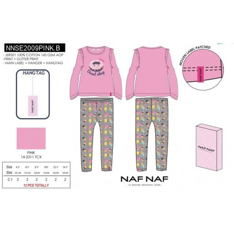 NFV-NNSE2009PINK.B fabricantes de ropa infantil en españa