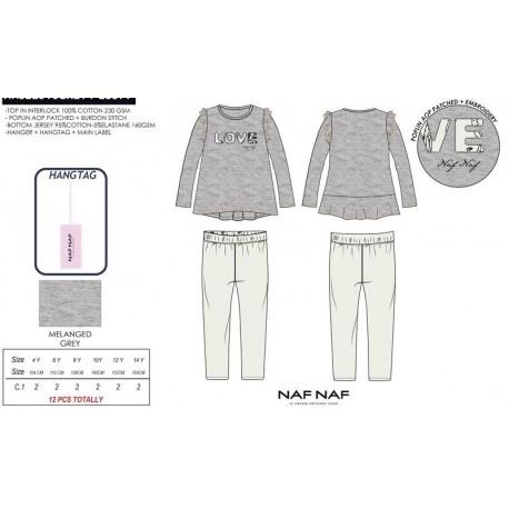 NFV-NNSE2016GREY fabricantes de ropa infantil en españa Pijama