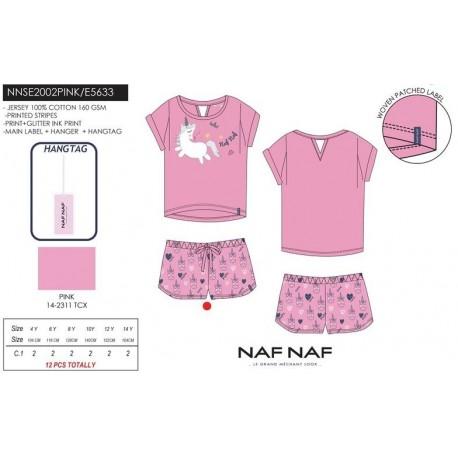 Pijama naf naf - Naf Naf - NFV-NNSE2002PINK