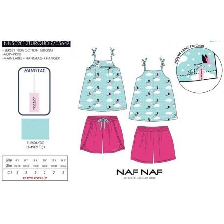 Pijama naf naf - Naf Naf - NFV-NNSE2012TURQUOIZ