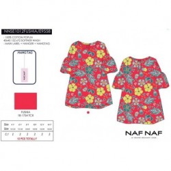 NFV-NNSE1012FUSHIA venta al por mayor de ropa infantil Vestido