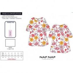 Vestido naf naf - Naf Naf - NFV-NNSE1012WHITE