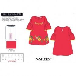 NFV-NNSE1015FUSHIA venta al por mayor de ropa infantil Vestido