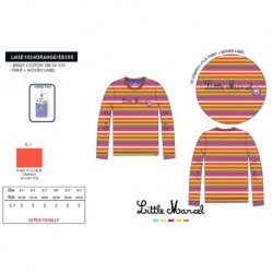 Camiseta little marcel - Little Marcel - NFV-LMSE1024ORANGE