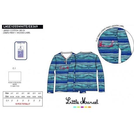 Camiseta little marcel - Little Marcel - NFV-LMSE1055WHITE