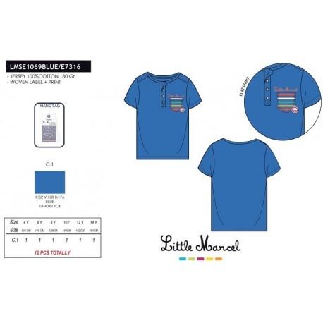 Camiseta mg corta little marcel - Little Marcel - NFV-LMSE1069BLUE