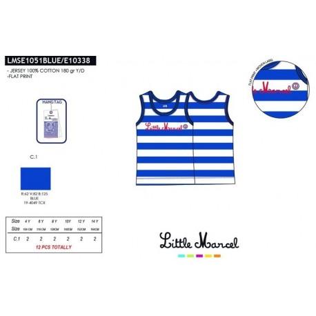 Camiseta tirantes little marcel - Little Marcel - NFV-LMSE1051BLUE