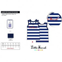 Camiseta tirantes little marcel