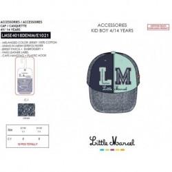 Gorra little marcel - Little Marcel - NFV-LMSE4018DENIM
