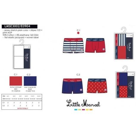 NFV-LMSE3002 ropa de licencias al por mayor Lote 2 boxers