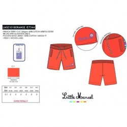 Pantalones cortos little marcel - Little Marcel - NFV-LMSE1018ORANGE