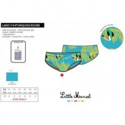 Slip baño little marcel - Little Marcel - NFV-LMSE1744TURQUOIZ