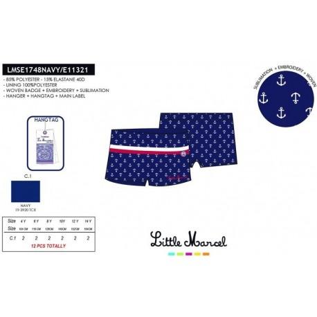 TMBB-LMSE1748NAVY ropa de licencias al por mayor Slip baño