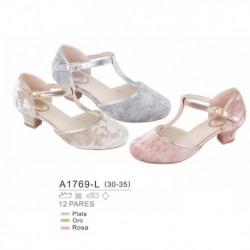 Zapato fantasia tacon bajo - Bubble - BBV-A1769-L