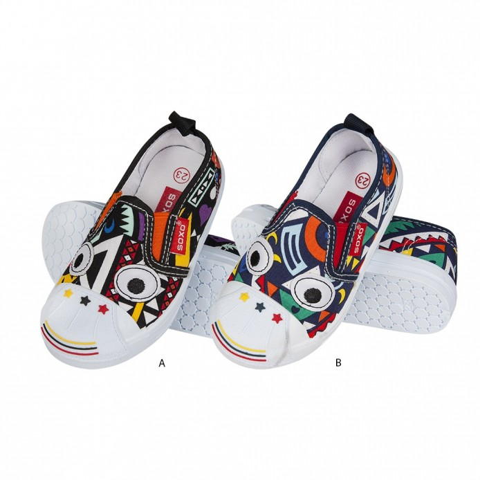 Slippers diferentes estampados Kindergarden - Soxo - SXV-71483