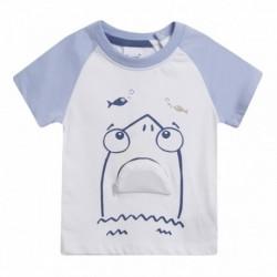 Camiseta tiburon con boca que se abre - Newness - BBV69042
