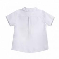 Conjunto camisa con pantalon corto tirantes