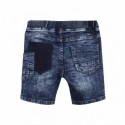 Bermuda lavado especial cintura de goma con cuerda - Newness - JBV58211