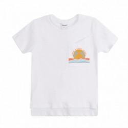Camiseta sol en bolsillo