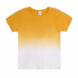 Camiseta amarilla lavada - Newness - JBV68241