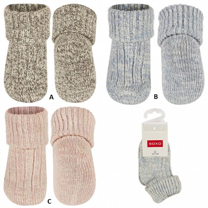 Calcetines bebé jaspeados almacen mayorista de ropa al por