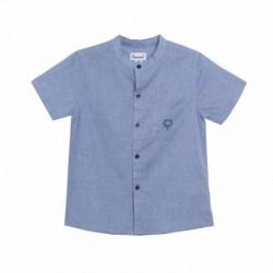Camisa cuello mao bolsillo de palmera - Newness - JBV98242