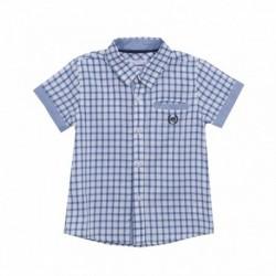 Camisa cuadros azules - Newness - JBV98247
